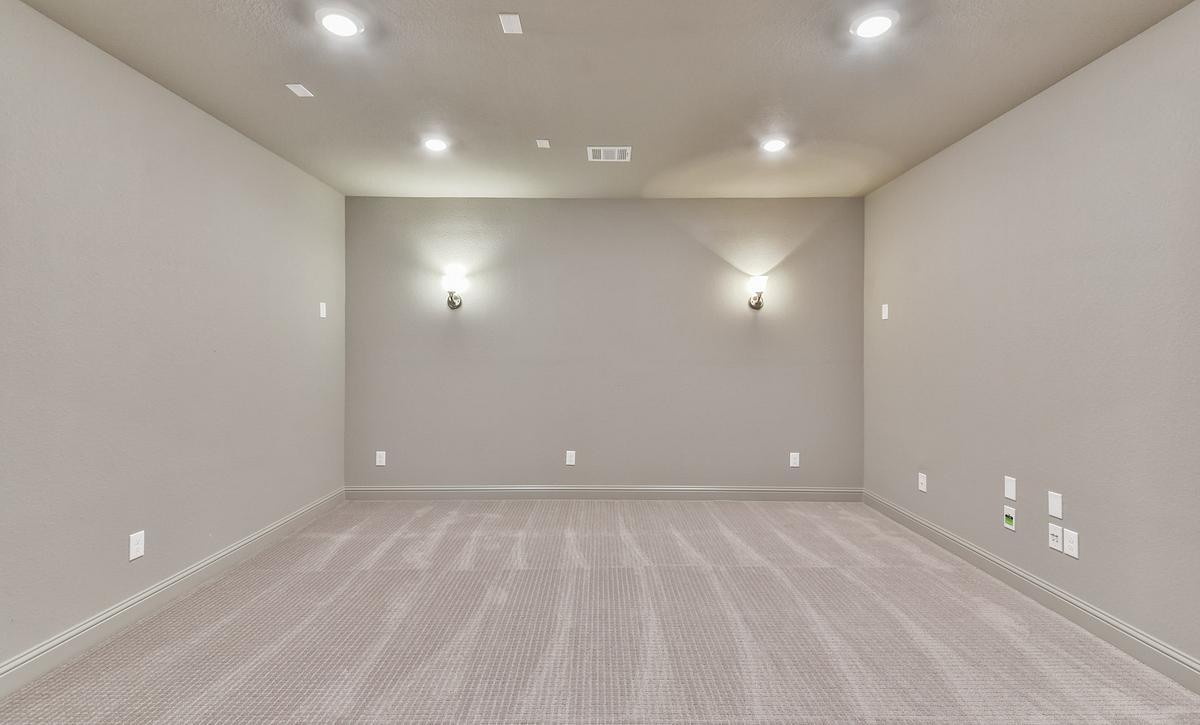 Sienna Plan 5049 Media Room