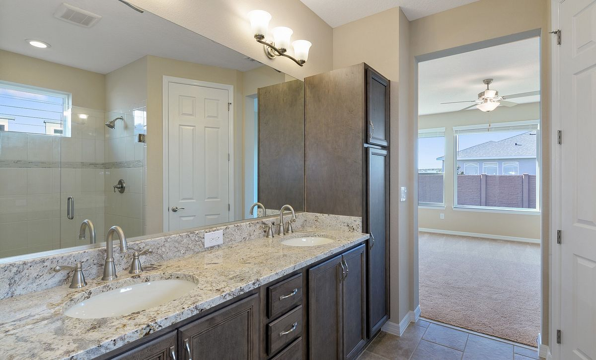 Trilogy at Ocala Preserve Quick Move In Monaco Plan Master Bath
