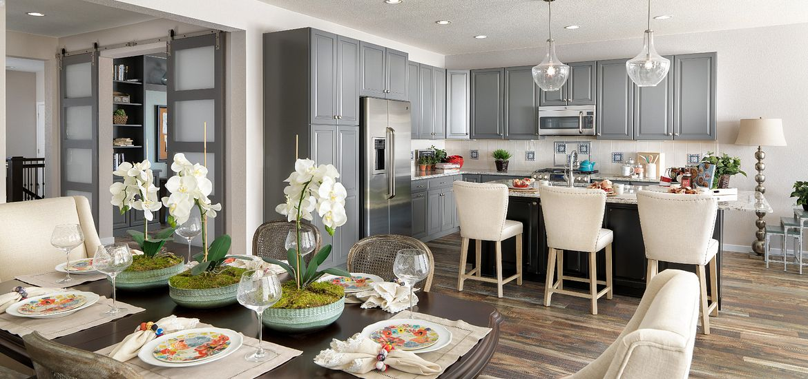 Colliers Hill Plan 401 Kitchen