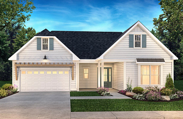 Trilogy Lake Norman Exterior Elevation: Coastal