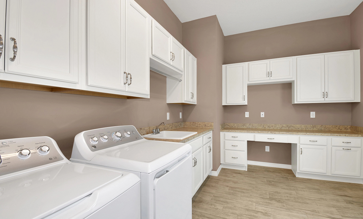 Trilogy at Ocala Preserve Quick Move In Home Imagine Plan Laundry