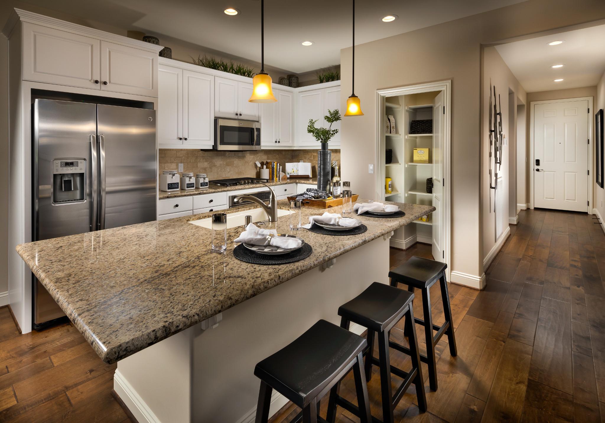 Monarch Ridge Townhomes Sage Kitchen