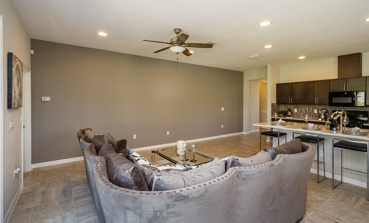 Trilogy Orlando Affirm Model Home Great Room
