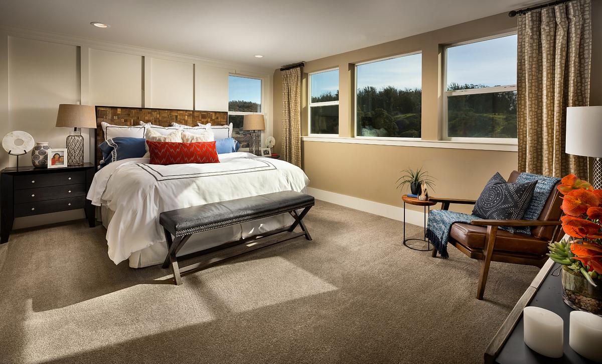 Shea Homes Rice Ranch Verbena Master Bedroom