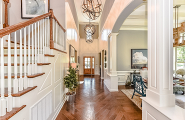 Redwood plan Foyer