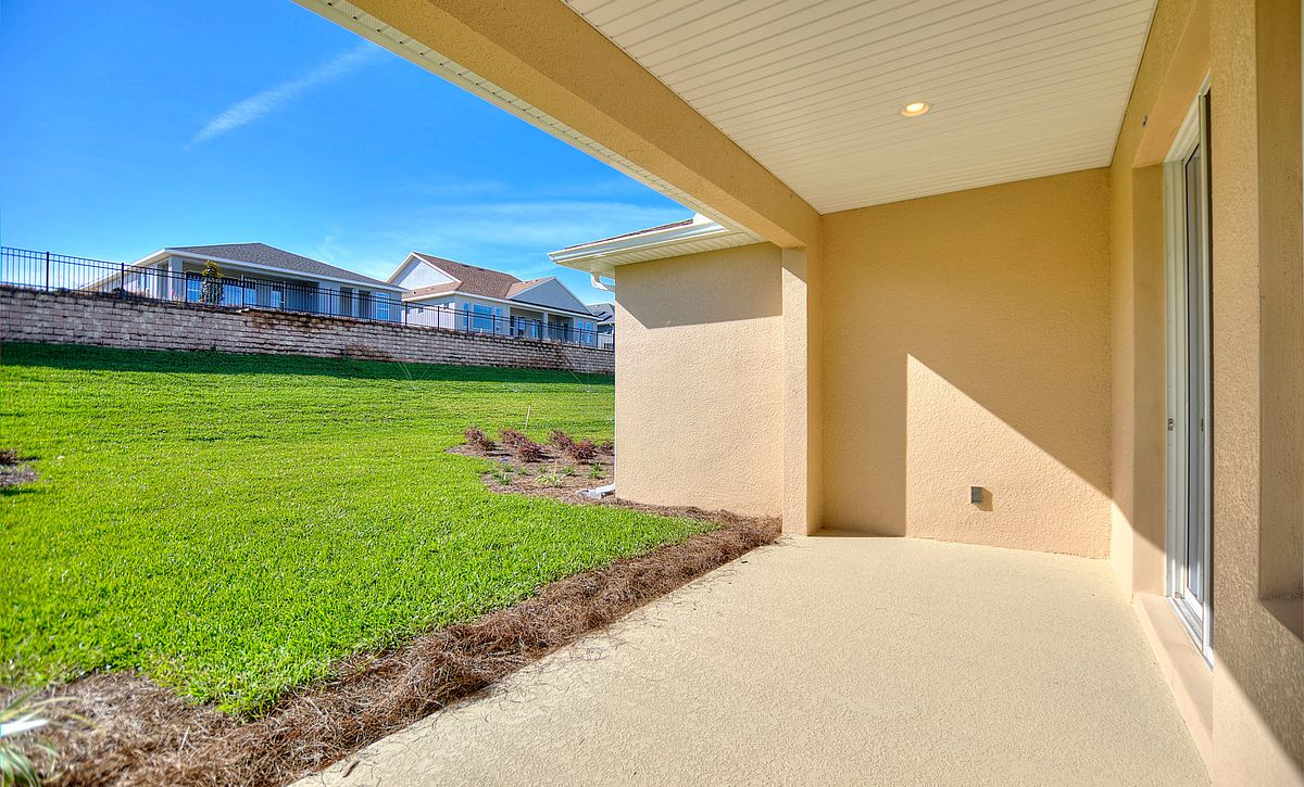 Trilogy Orlando Quick Move In Home Connect Plan Covered Lanai