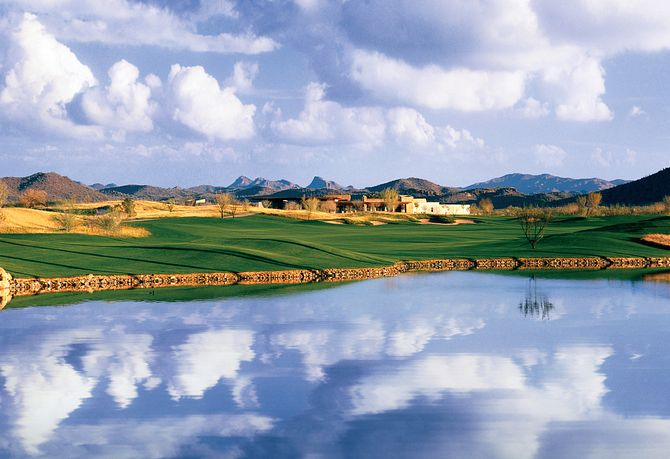 Vistancia Golf Course and Lake