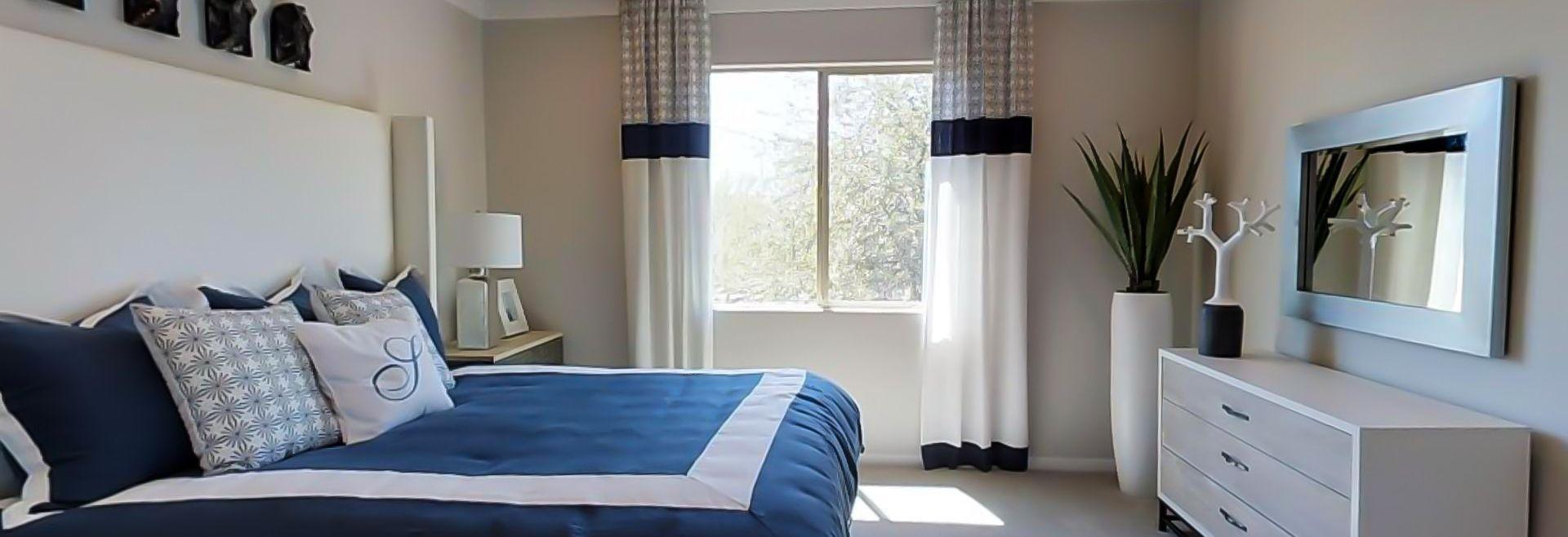 Loft Nineteen35 Plan Master Bedroom