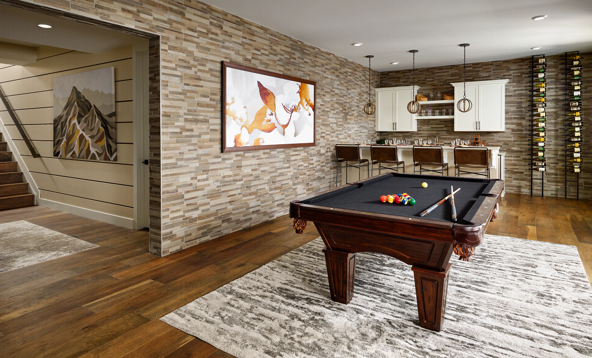 Canyons Retreat Haven Model Basement Wet Bar