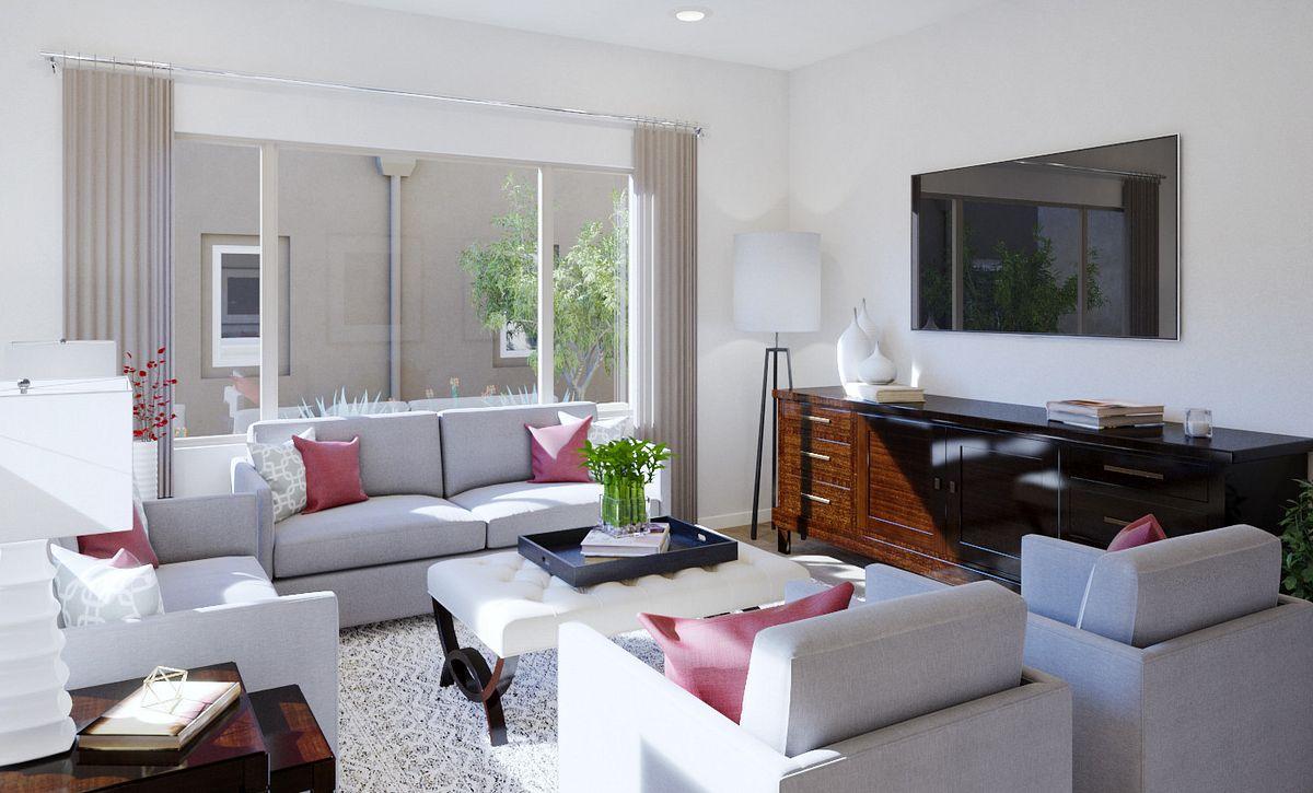 Trilogy Summerlin Radiant Great Room Rendering