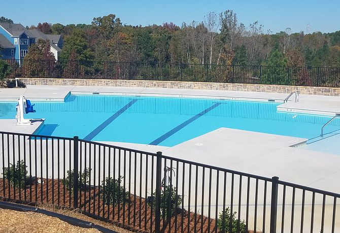 Habersham community pool