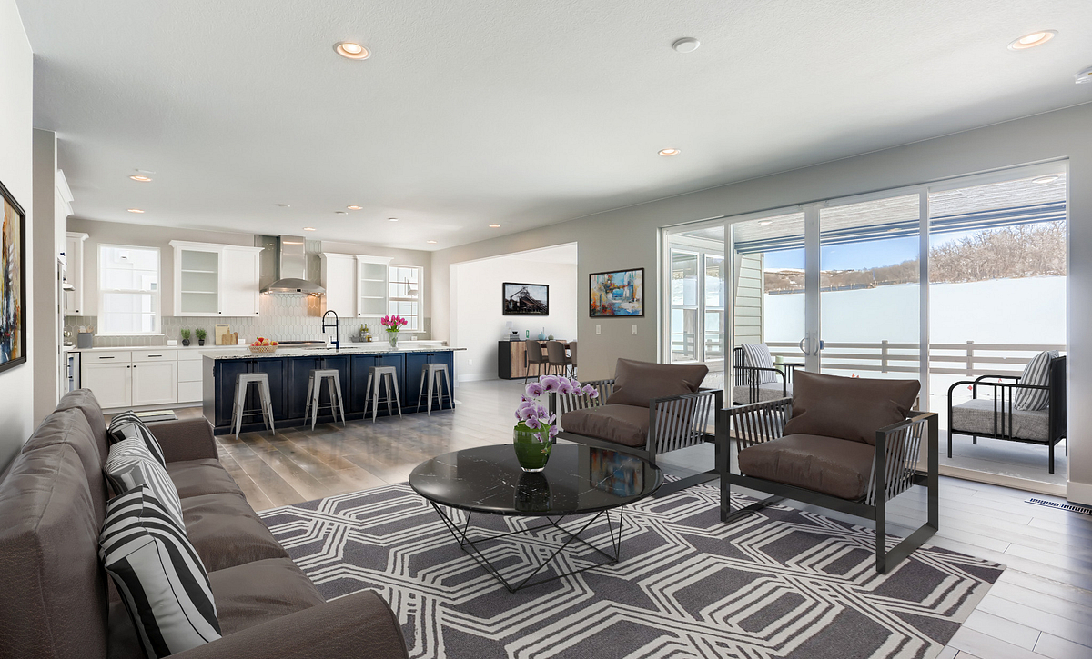 Canyons Luxe Weston Great Room & Kitchen