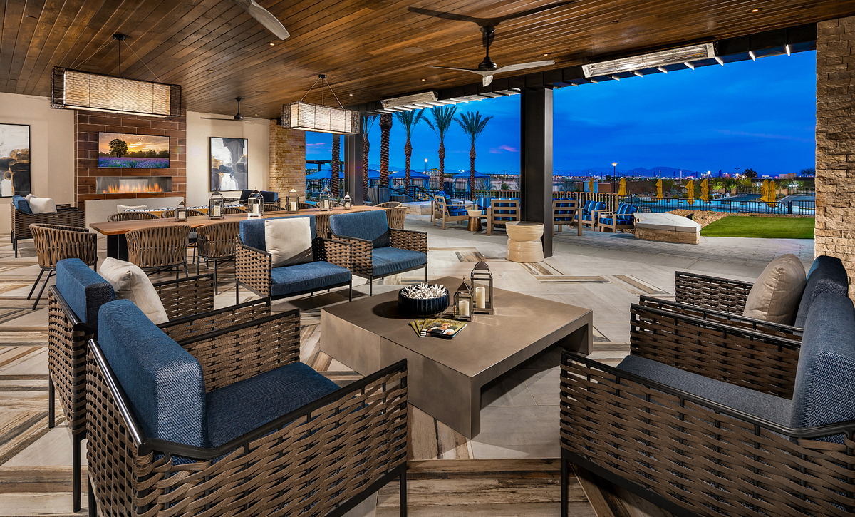 Trilogy Summerlin Grand Living Room Patio