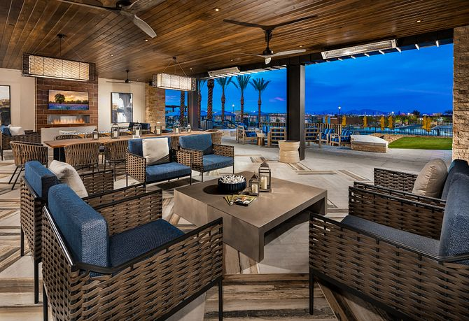 Trilogy Summerlin Outlook Club Grand Living Room