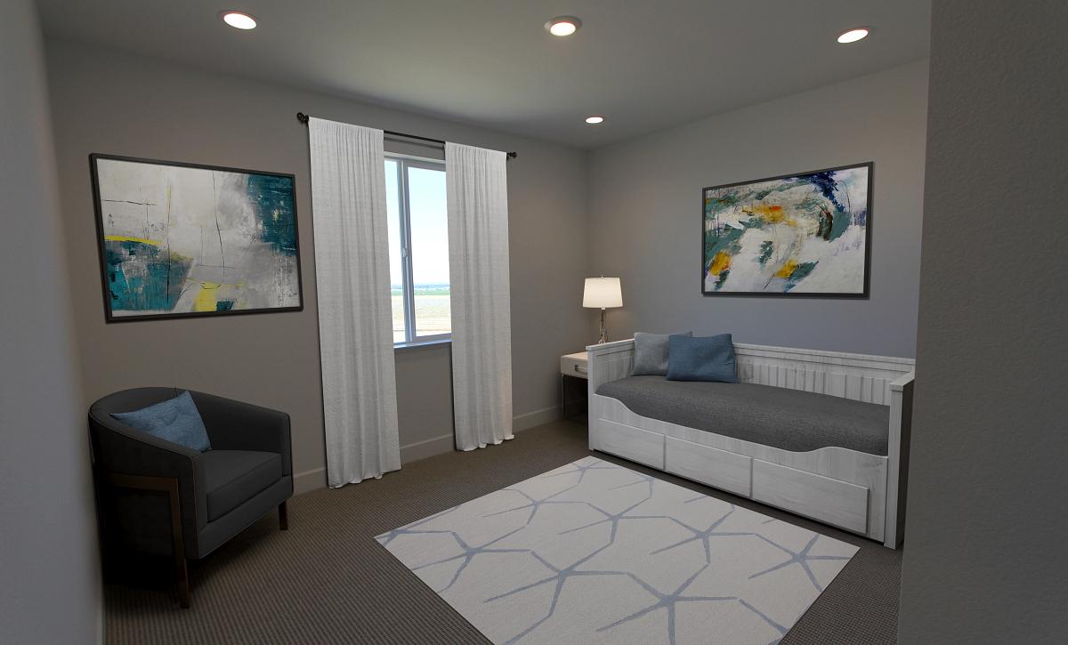 Plan 4 Bedroom 4 Virtual Staging