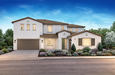 Elan Tracy Hills Ext Elevation Rendering Plan 2A