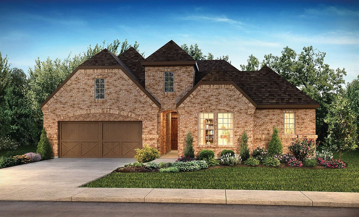 Plan 5117 Exterior C: Texas Traditional