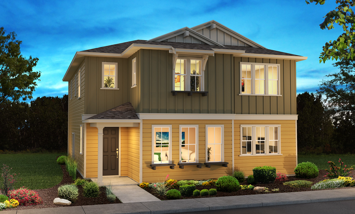 Surf House Plan 3 Elevation B