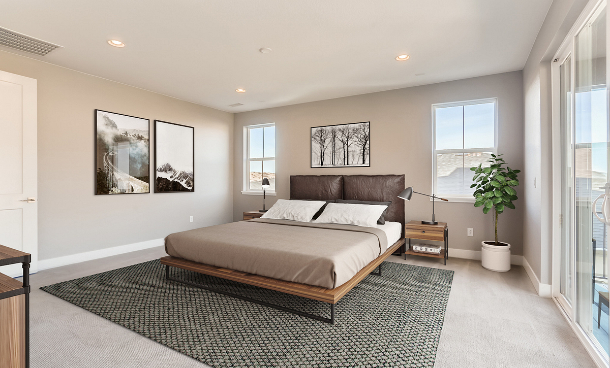 Canyons Luxe Stratton Master Bedroom