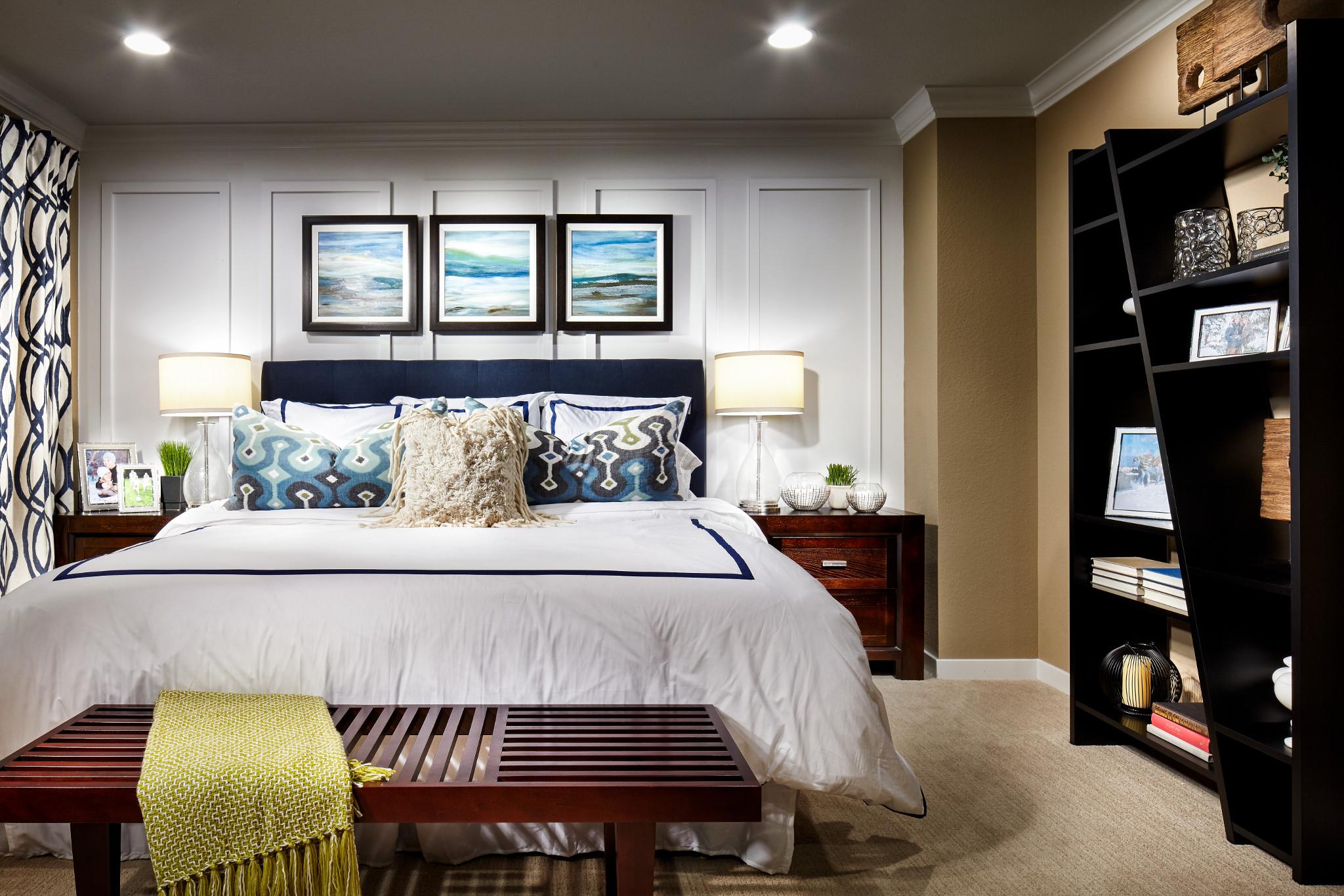 SPACES Reunion Plan 3507 Master Bedroom