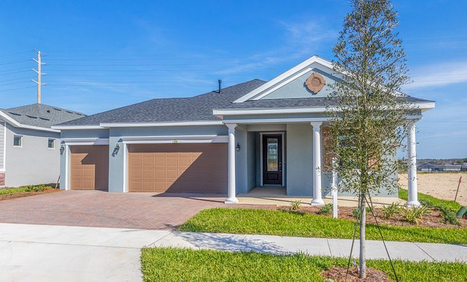 Trilogy Orlando Quick Move In Home Larkspur Plan Exterior