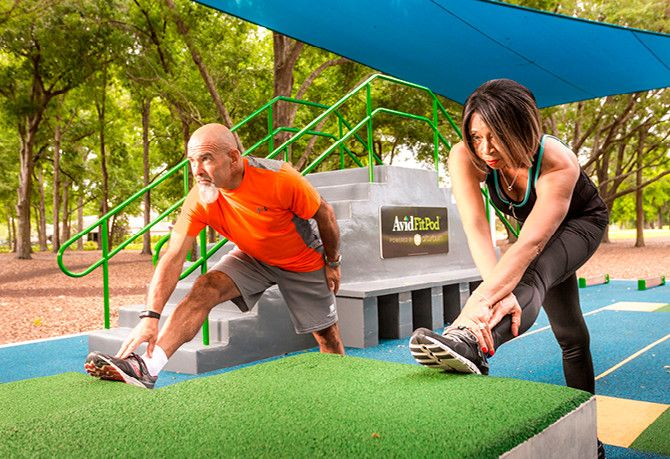 Avid FitPod™ Outdoor Fitness Park