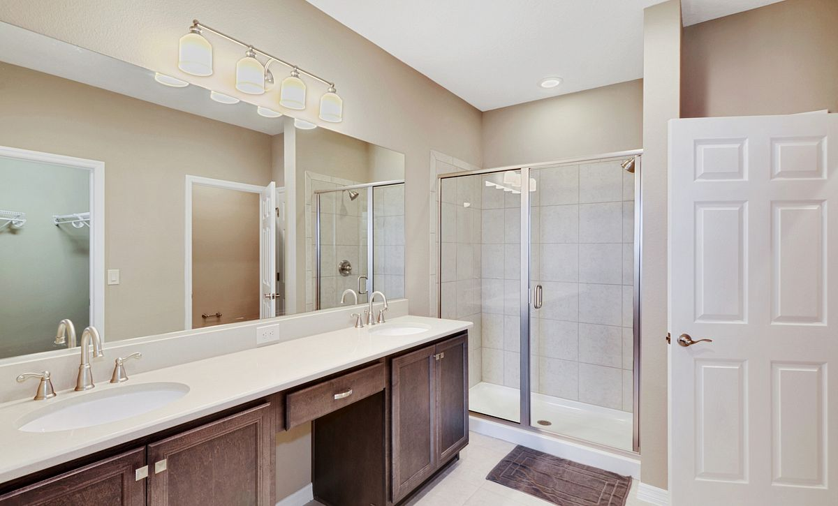 Trilogy at Ocala Preserve Quick Move In Home Naples Master Bath