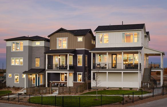 Crescendo at Central Park Model Homes