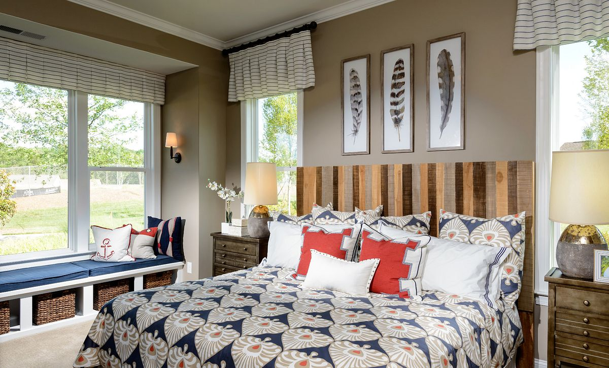 Trilogy Lake Norman Graham Plan Master Bed