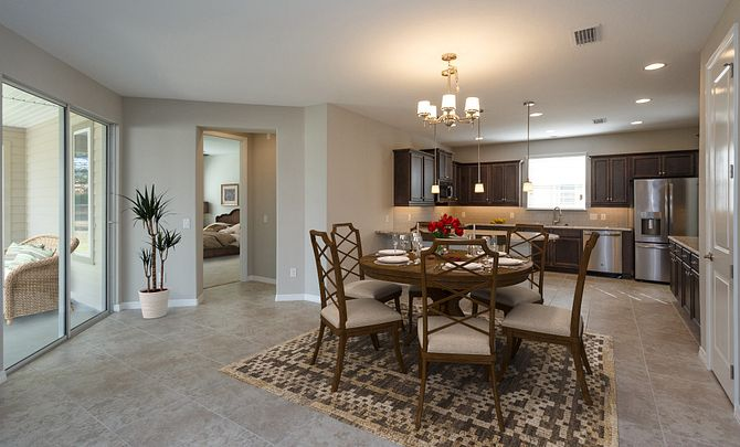 Trilogy at Ocala Preserve Cannes Plan Virtually Staged Room