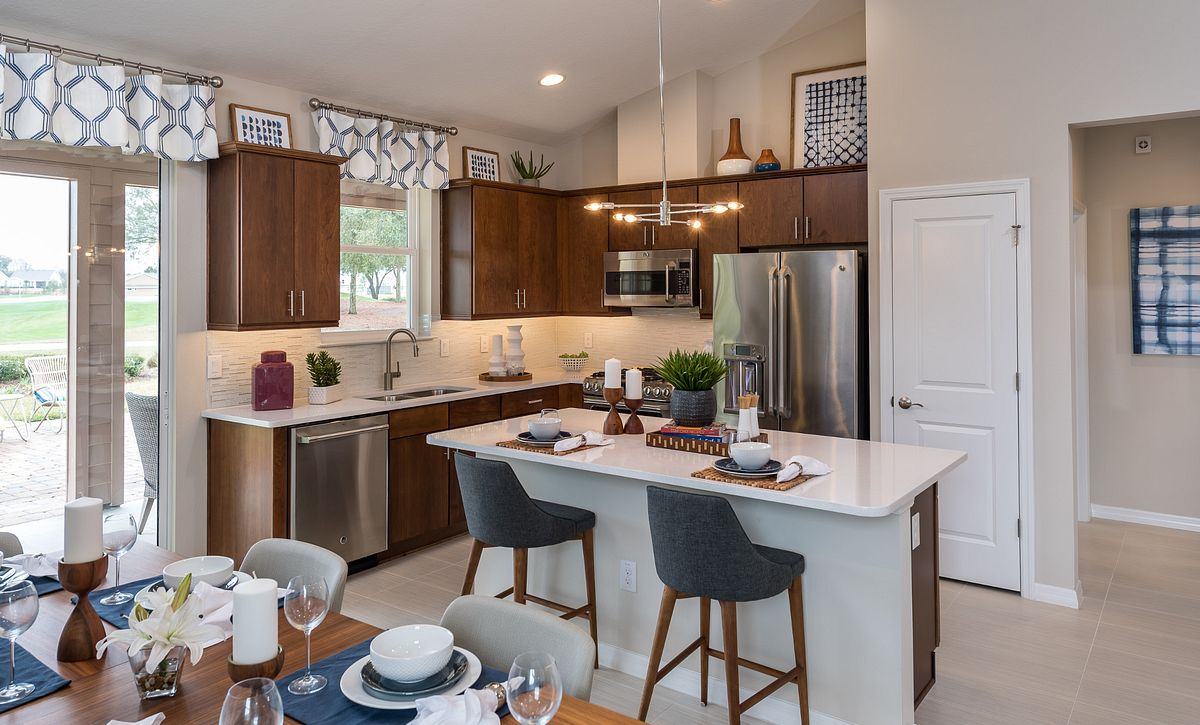 Trilogy at Ocala Preserve Rome Model Home Kitchen