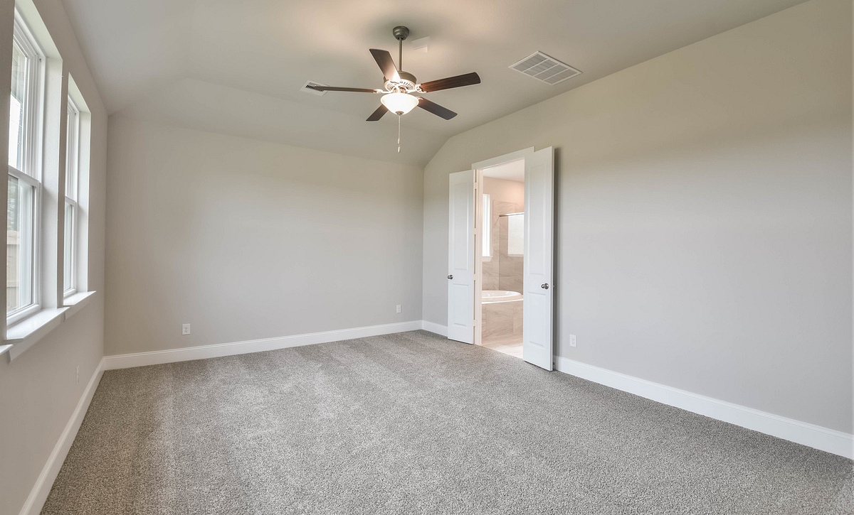 Plan 4029 Primary Bedroom