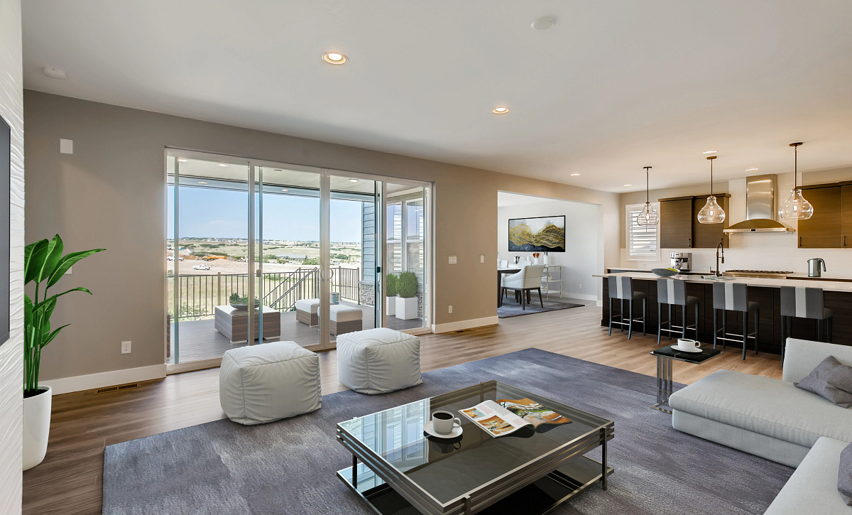 Canyons Luxe Weston Great Room, Kitchen
