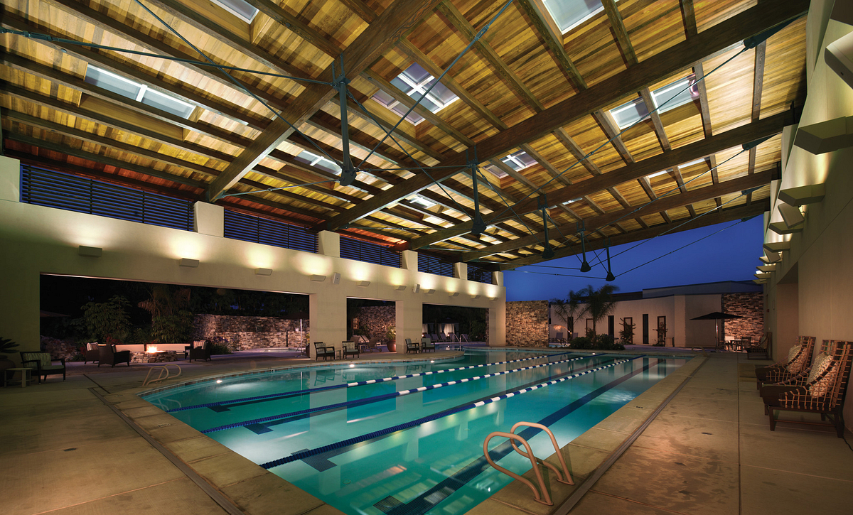 Trilogy Monarch Dunes Covered Lap Pool