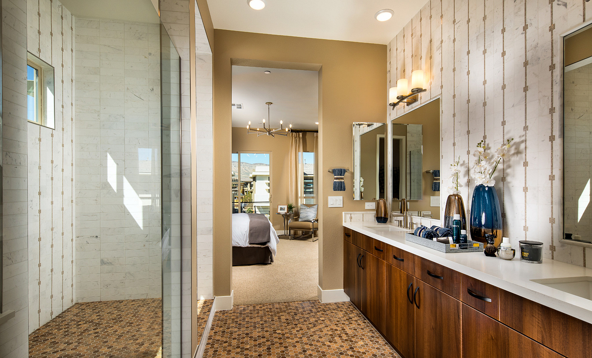 Trilogy in Summerlin Apex Master Bath