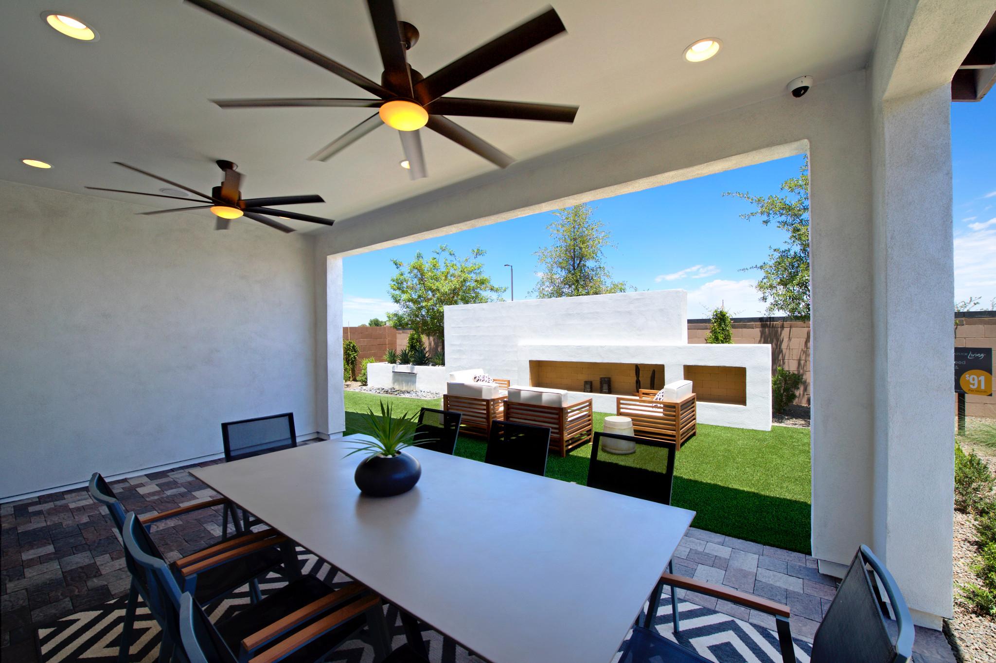 Aperture at Gateway Quarter Plan 4014 Backyard