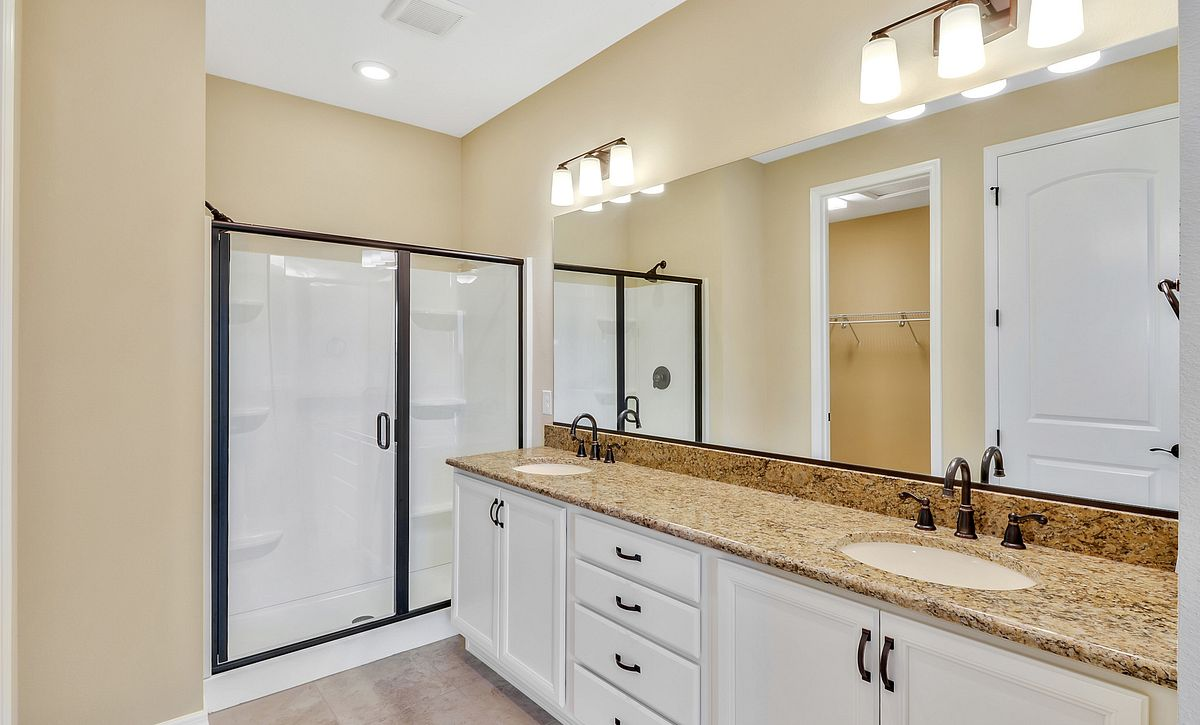 Trilogy at Ocala Quick Move In Home Affirm Plan Master Bath