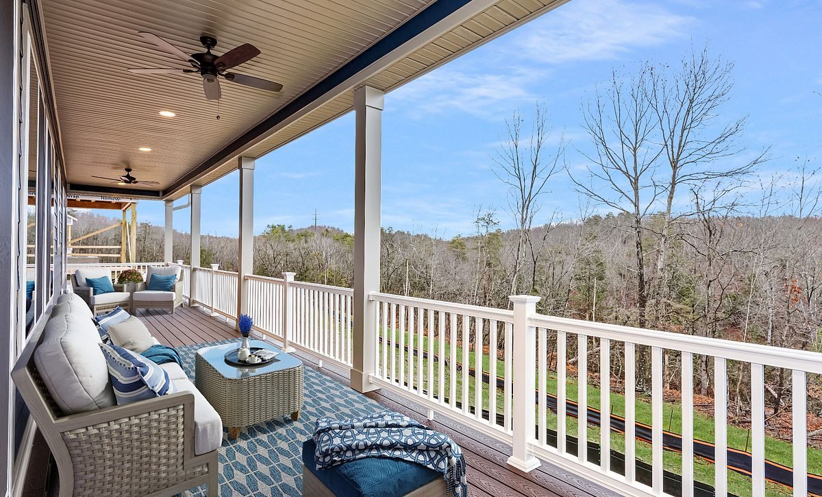Trilogy at Lake Frederick Quick Move-In Home Covered Patio