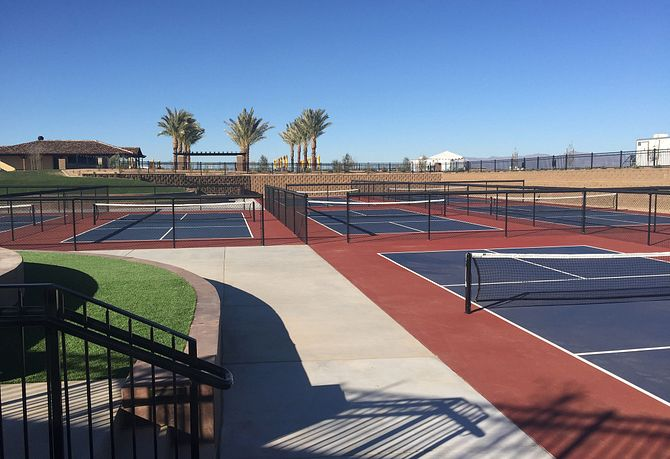 Encanterra Pickle Ball Courts