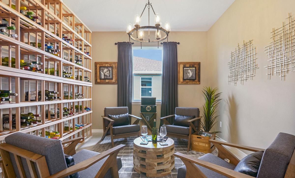 Trilogy at Ocala Preserve Excite Model Home Den