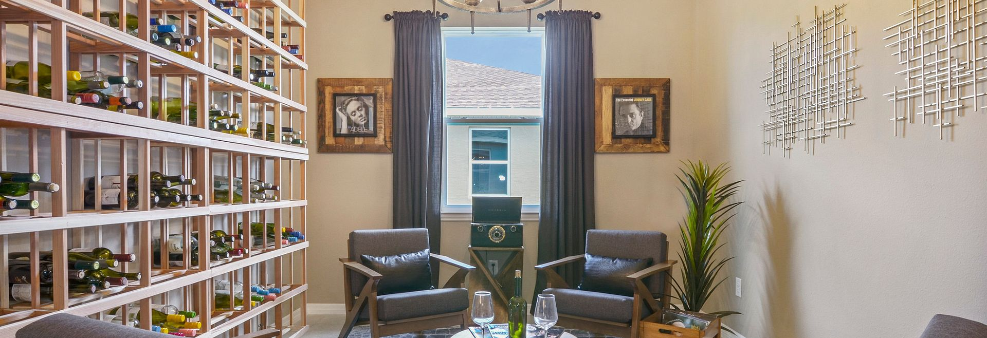 Trilogy at Ocala Preserve Excite Model Home Den