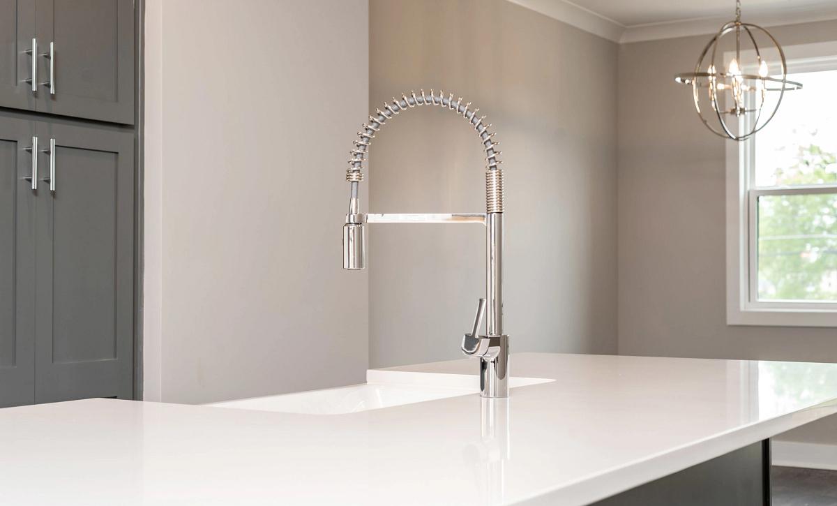 Brooklyn # 2 Kitchen Faucet & Dining Light Fixture