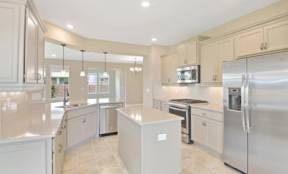 Trilogy at Ocala Preserve Quick Move In Home Monaco Kitchen