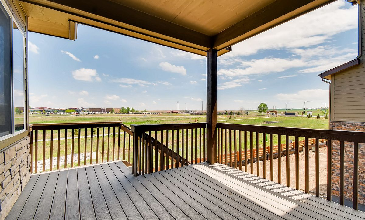 Colliers Hill Shea3D Plan 403 QMI Lot 3611 Covered Deck