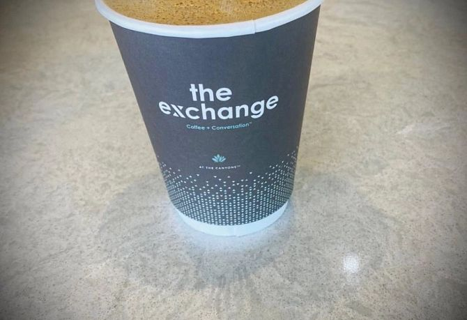 Canyons The Exchange Coffee House Coffee Cup