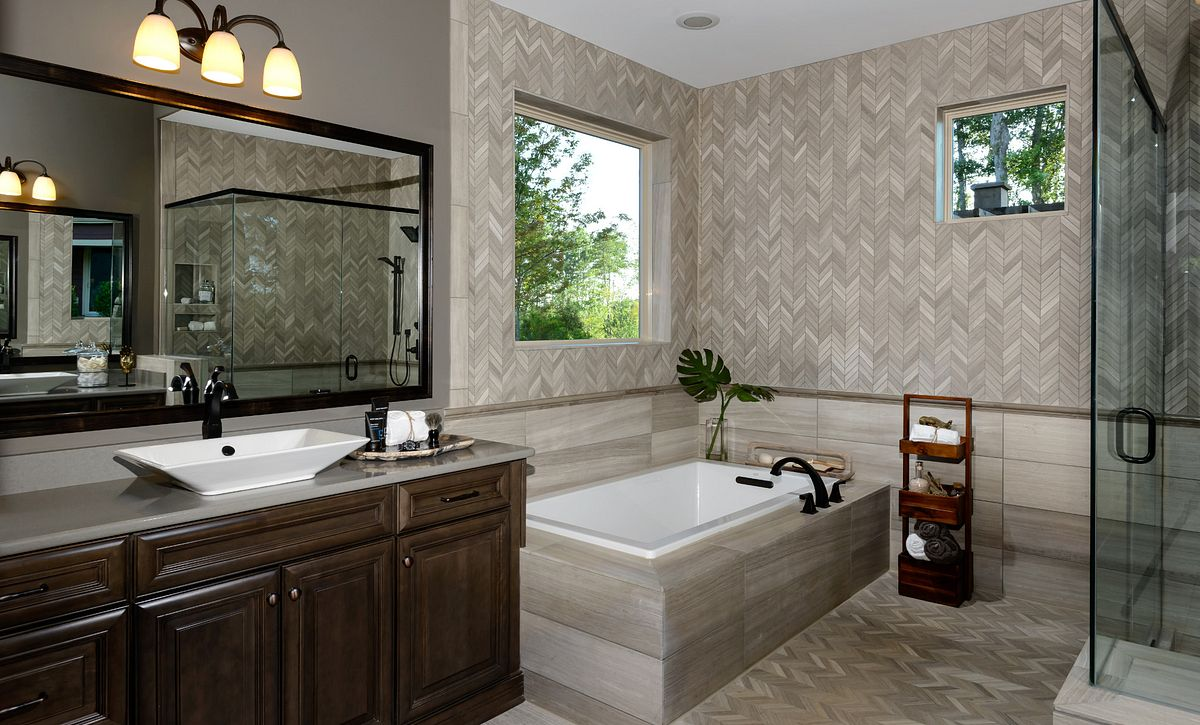 Balsam Model Home Master Bath