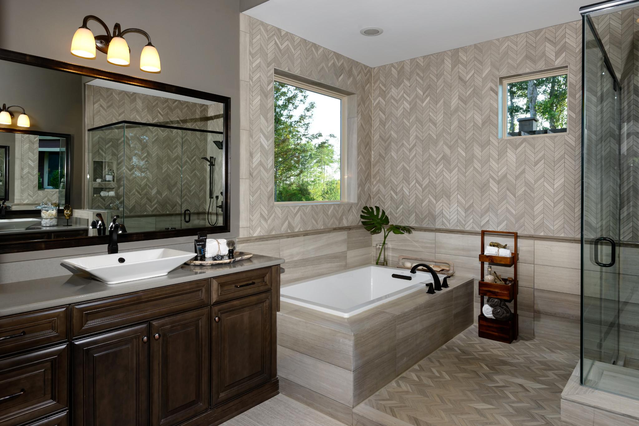 Balsam Model Home Master Bath