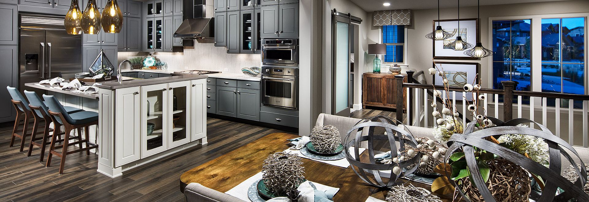 BackCountry Painted Sky Indigo Mist Kitchen