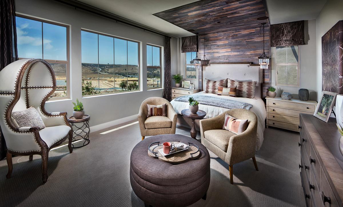 Plan 2: Master Bedroom