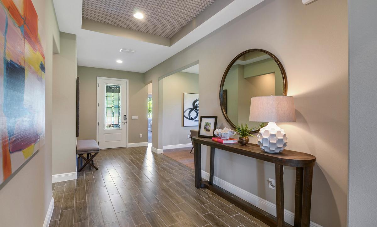 Trilogy at Ocala Preserve Liberty Model Home Entry